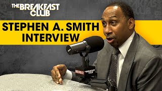 Stephen A. Smith Reveals Why He Avoided The Breakfast Club, Talks Antonio Brown, Melo + More