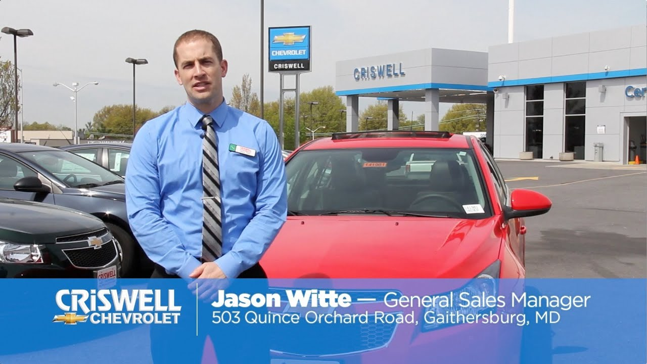 2014 Chevrolet Cruze Walkaround - Maryland Chevy Dealer ...