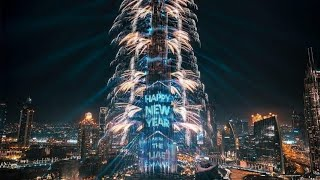 Burj khalifa Fireworks 2020 - Dubai New year Celebration 2020