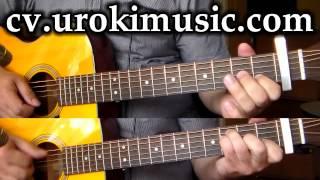 Мелодии на гитаре - Наргиз - Ты моя нежность - легкие мелодии на гитаре zan urokimusic com