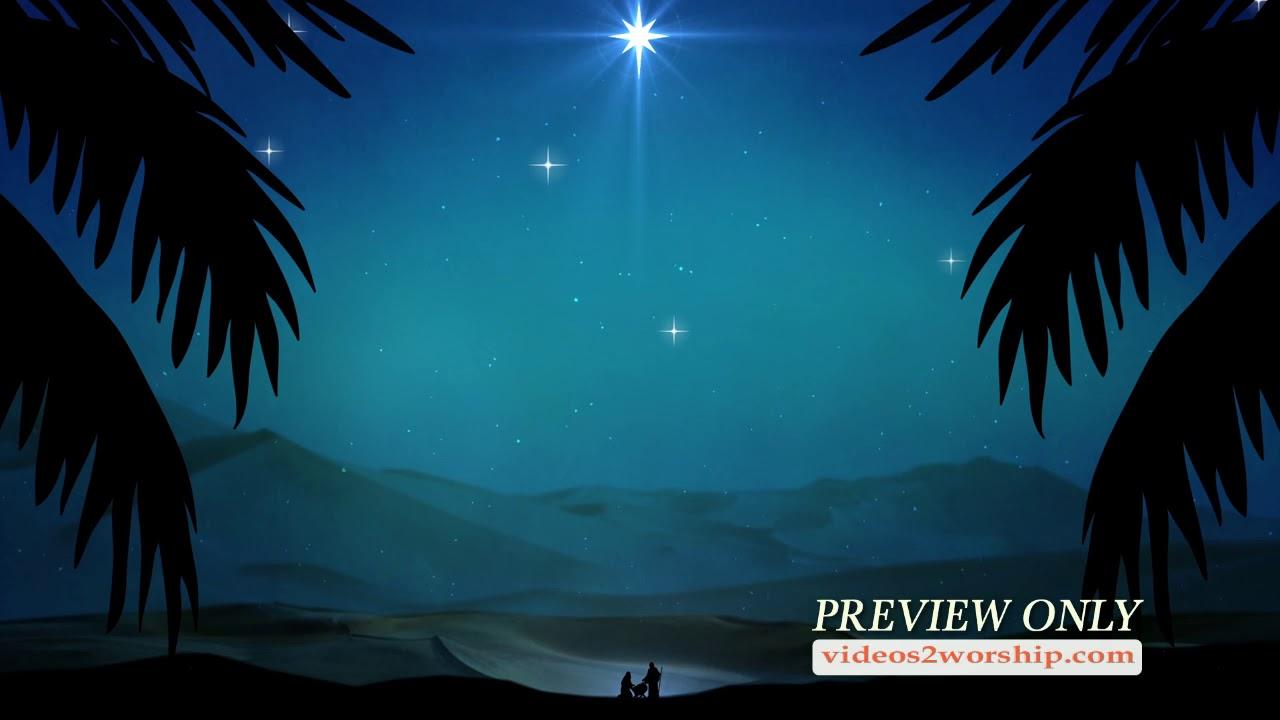 Christmas Nativity Scene Background Videos2worship Youtube