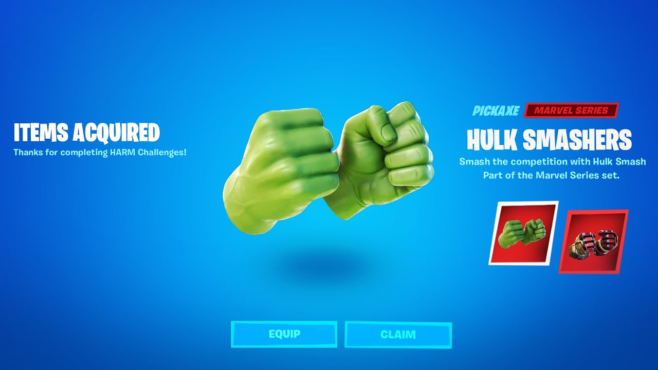 Download HOW TO GET THE HULK SMASHERS PICKAXE in Fortnite Battle Royale!