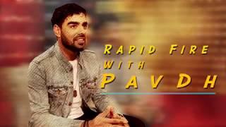 Pav Dharia Rapid Fire QnA Session With PTC Punjabi