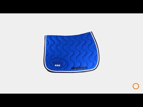 Tapis De Selle Jump In Bleu Roi Ohlala Sellerie Youtube