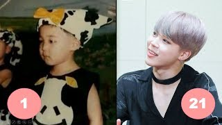 Jimin BTS Childhood | From 1 To 21 Years Old