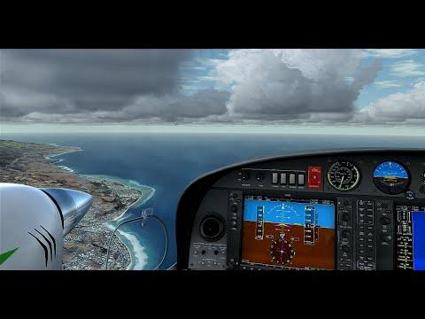 FSX - Landing FMEP Reunion Island
