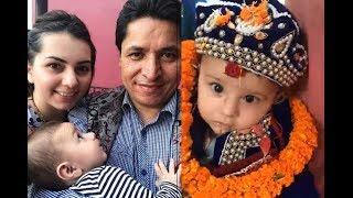 ऋषि धमलाले मनाए हस्पिटलमै छोराको पास्नी - दिए प्रधानमन्त्री बन्ने आशिष | Rishi Dhamala & Aliza