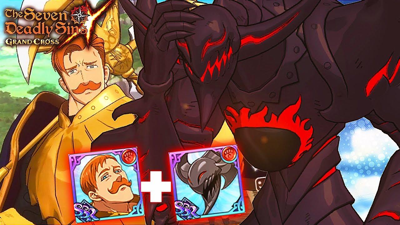 Download MAKES ESCANOR STRONGER?! RED GALLAND'S PASSIVE SHOWCASE!!   Seven Deadly Sins: Grand Cross