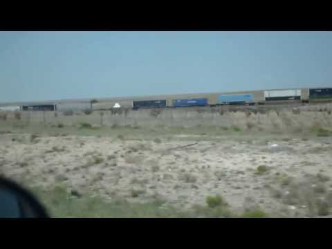UFO CoverUp on a Transport Train in the Middle of New Mexico
