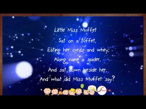 Little Miss Muffet (Sing-A-Long) Karaoke [Instrumental]- Evokids