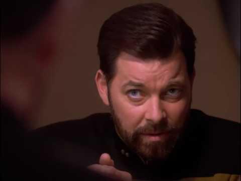 William Riker hates copy of himself Star Trek TNG (Blu Ray HD)