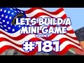 Minecraft Xbox - Lets Build A Mini Game World - 181 - FLAG RUNNER!!