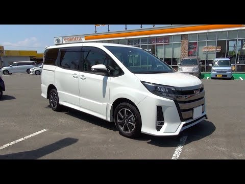 2017 New TOYOTA NOAH 2.0L 4WD - Exterior & Interior