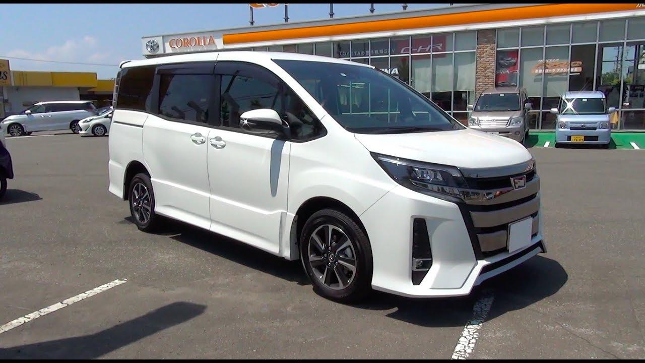 2017 New Toyota Noah 2 0l 4wd Exterior Interior Youtube