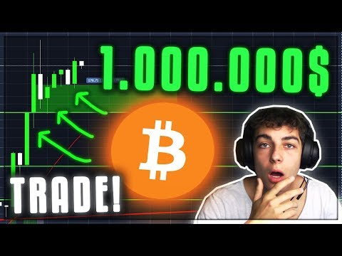 MEIN 1.000.000$ BITCOIN TRADE! Kryptowährungen deutsch