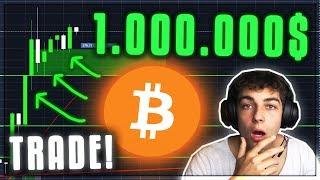 MEIN 1.000.000$ BITCOIN TRADE! Kryptowährungen deutsch