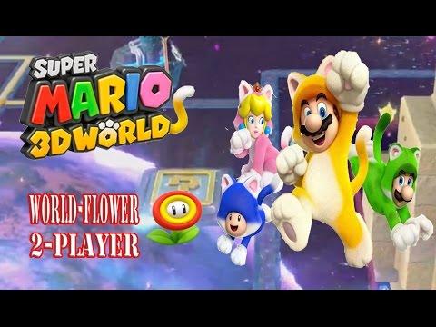 Super Mario 3D World - World Flower (2-Player)