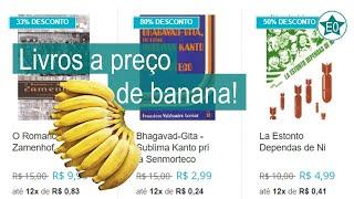 Livros a preço de banana | Esperanto do ZERO!
