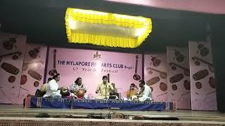 Ghatam Karthick's Ratipatipriya Tillana sung by Sikkil Gurucharan