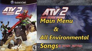 ATV: Quad Power Racing 2 - Main Menu & All Environmental Songs