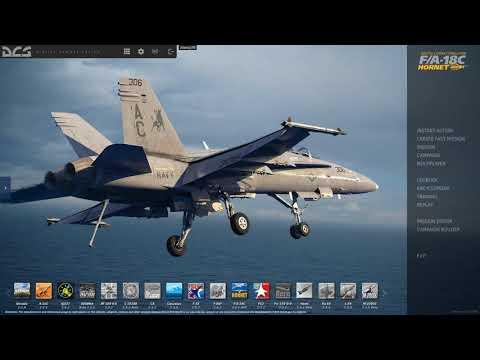 DCS F/A-18 Hornet Menu Music