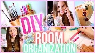 Diy Room Organization & Storage Ideas For 2015! (super Easy & Inexpensive) | Emma Catherine