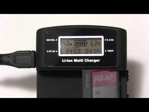 PURENERGY MP839 Universal Camera Charger