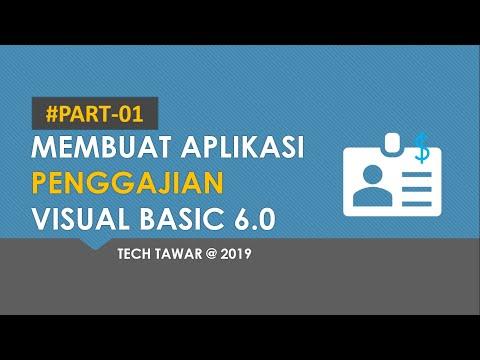 Cara Membuat Aplikasi Penggajian Dengan Vb 6.0