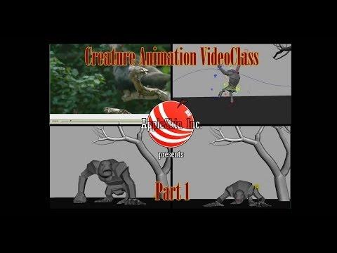Creature Animation VideoClass Part 1