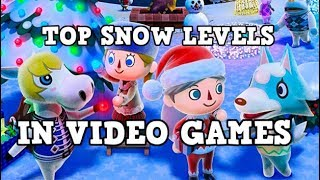 THE BEST SNOW-THEMED LEVELS IN VIDEO GAMES
