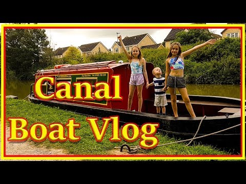 Canal Boat Vlog - Our Canal Adventure