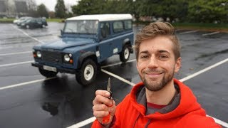 What It's Like Driving a 26 Year Old Land Rover Defender Tdi!