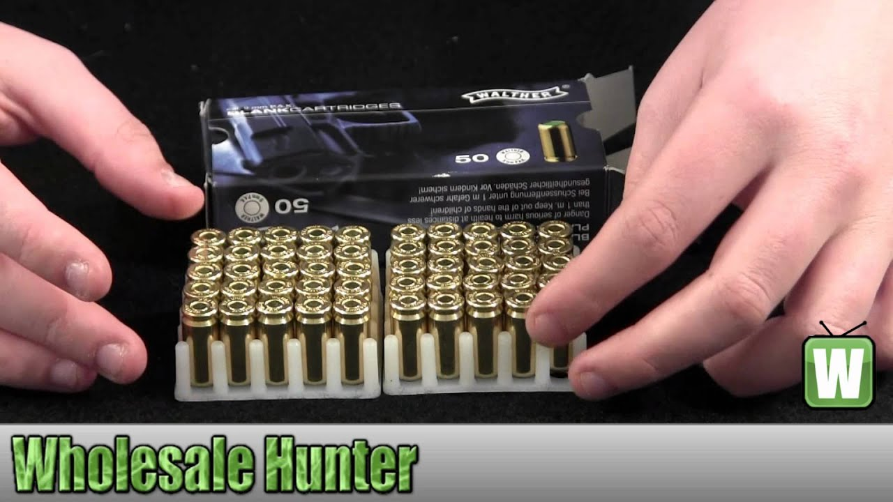 Umarex USA Blanks Blank 9mm PAK (Per 50) 2252753