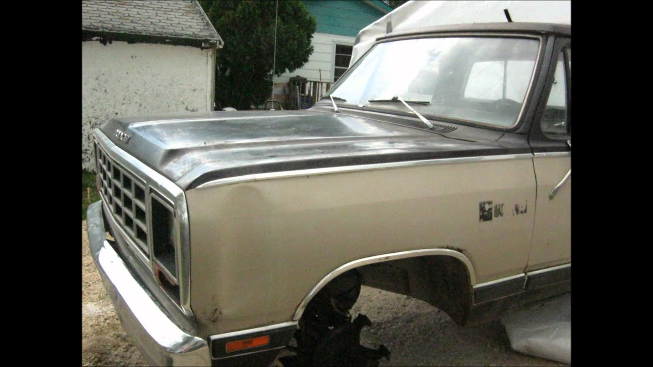 maxresdefault 1983 dodge d150 youtube 1983 Dodge Truck at sewacar.co