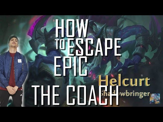 HOW TO ESCAPE EPIC ! - COACHING - 1000 DIAMONDS GIVEAWAY - MOBILE LEGENDS - GAMEPLAY - HELCURT