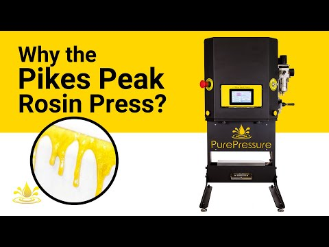 Why Choose a Pikes Peak Rosin Press?