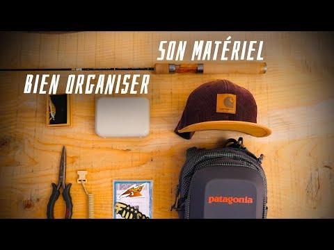 BIEN ORGANISER Son équipement TRUITES AUX LEURRES