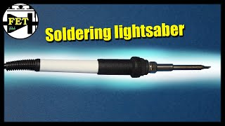 Soldering lightsaber - the first AI soldering iron