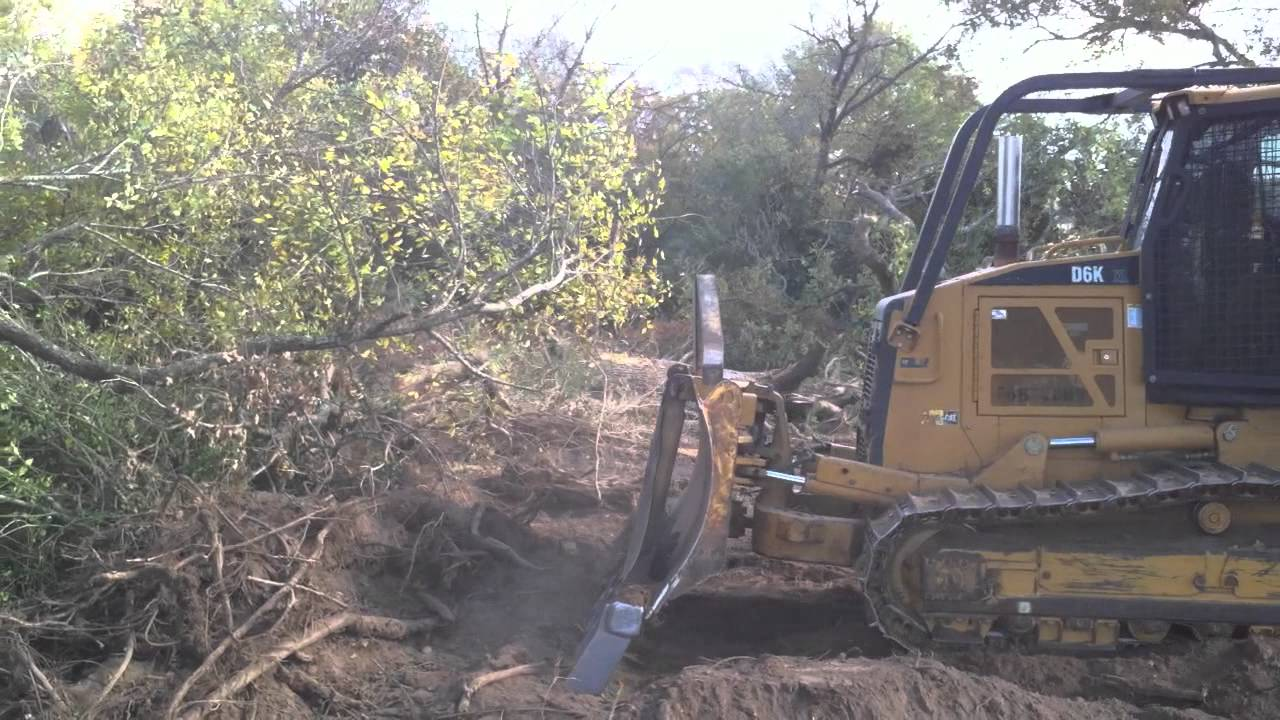 Cat 7 Cable >> Cat D6K with USA Attachments Rake - YouTube
