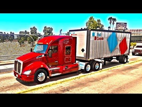 American Truck Simulator Multiplayer Обзор