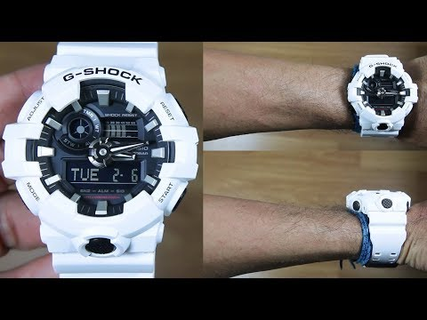 CASIO G-SHOCK GA-700-7A - UNBOXING - YouTube 52c522ebc4
