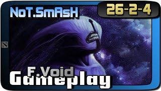 Dota 2 | NoT.SmAsH Faceless Void 26-2-4 Gameplay