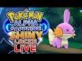 LIVE SHINY MUDKIP SOFT RESETTING Pokemon Alpha Sapphire ShinyLocke Shiny Hunting W HDvee mp3
