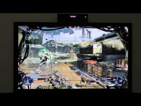 Titanfall gameplay Xbox One on Panasonic Viera Neo Plasma 600Hz - 1080p