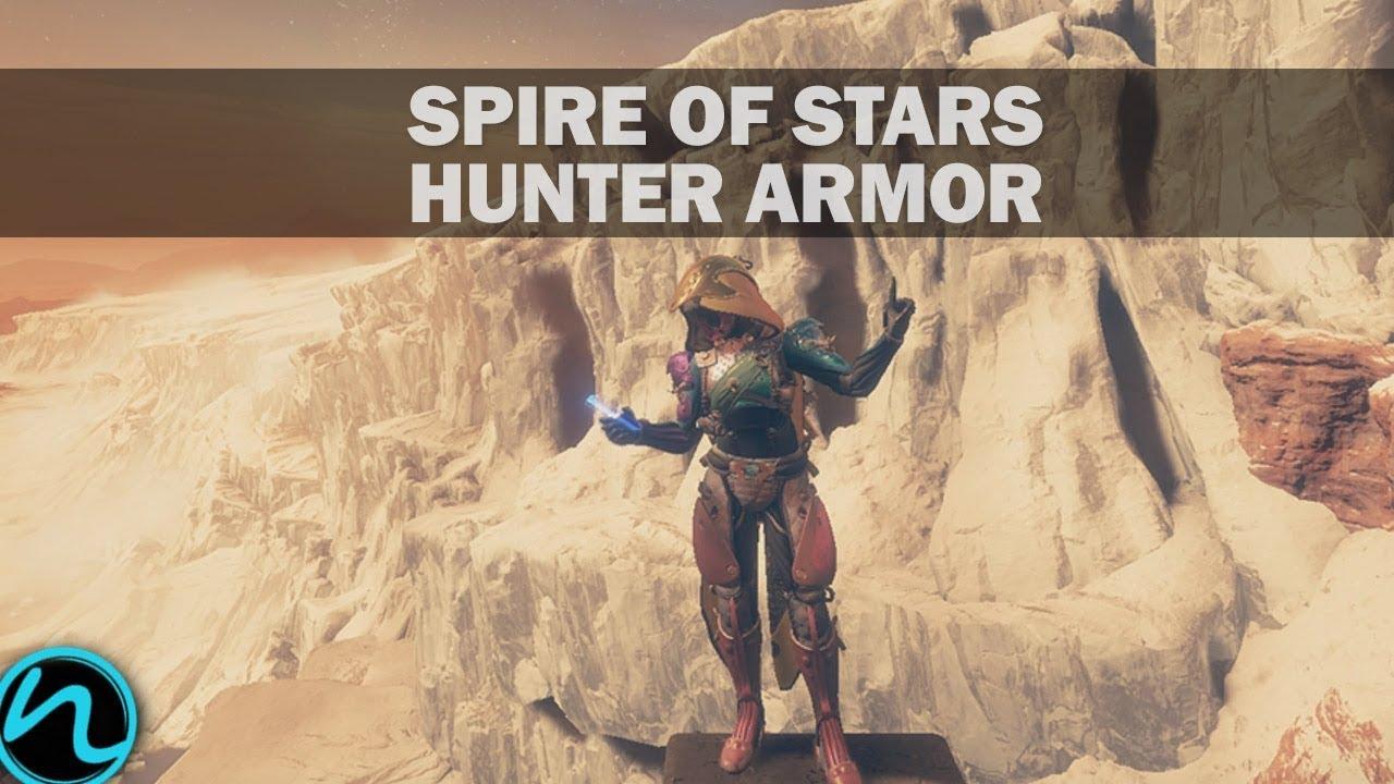 Destiny 2 Equitis Shade Hunter Armor Set (Leviathan Spire of Stars Hunter  Armor)