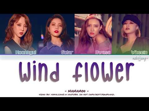 MAMAMOO (마마무) – WIND FLOWER (Color Coded Lyrics Eng/Rom/Han/가사)
