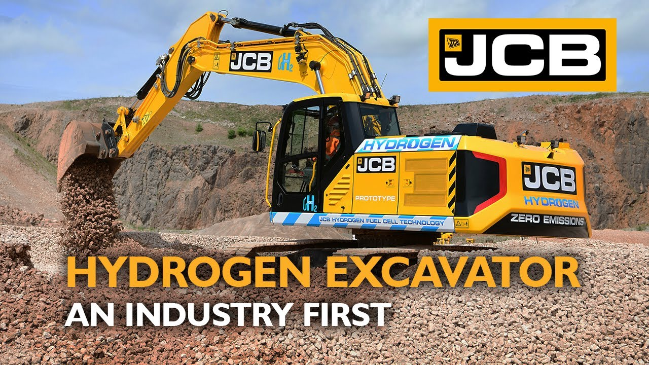 JCB's Hydrogen Fuel-Cell X Series Excavator - A Zero Emission Industry First
