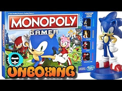 Sonic The Hedgehog Monopoly Gamer Edition Unboxing!