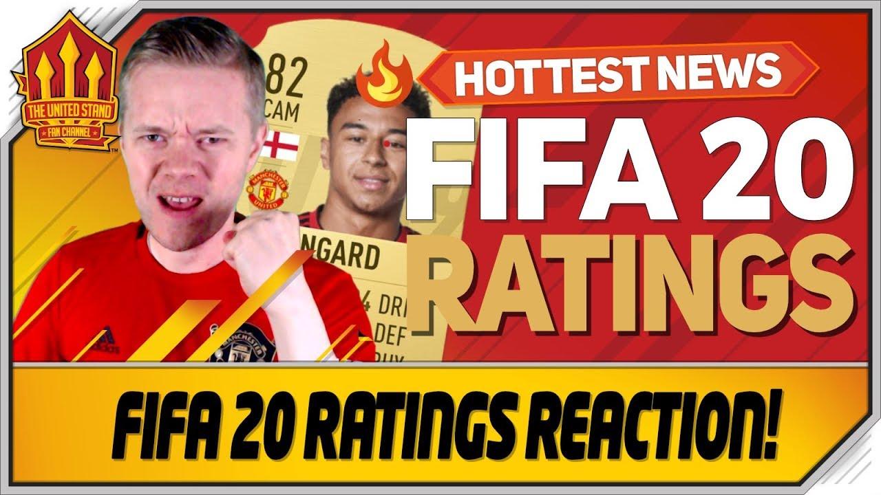 Fifa 20 Manchester United Ratings Goldbridge Reacts