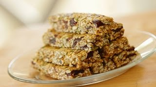 Sara Lynn's No-bake Granola Bar Recipe (collab With The Domestic Geek!)